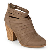 Journee Collection Selena Strappy Ankle Booties