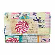 Mundi Amsterdam Beach Print Indexer Wallet