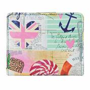 Mundi Mini Beach Print Bi-Fold Wallet
