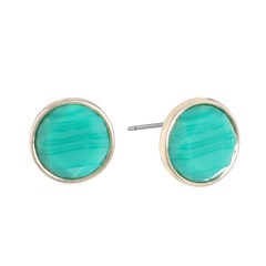 Monet Jewelry Green Stud Earrings