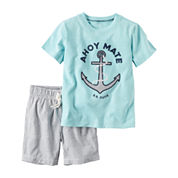 Carter's 2-pc Short Set - Baby Boys