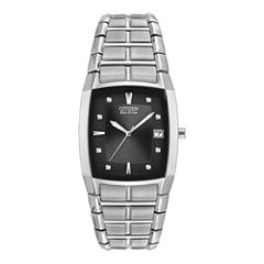 Citizen® Eco-Drive® Mens Stainless Steel Watch BM6550-58E