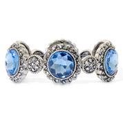 Monet® Blue Moon Stretch Bracelet