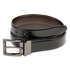 Stafford® Reversible Leather Belt–Big & Tall