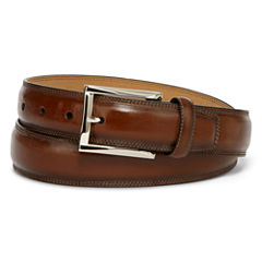 Stafford® Feather-Edge Belt with Stitch