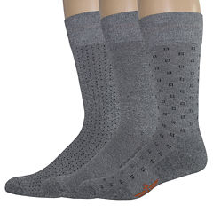 Dockers® 3-Pk. Ultimate Fit Crew Socks