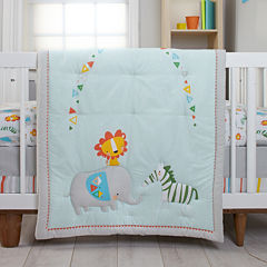 NoJo® Zutano Juba 5-pc. Crib Bedding Set