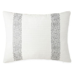 Eva Longoria Home Bethany Pleated Oblong Decorative Pillow