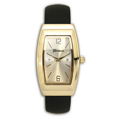 Olivia Pratt Womens Black Bangle Watch-80003