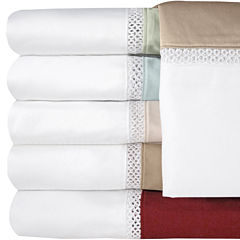 Veratex 500tc  Cotton Sateen Embroidered Duet Set of 2 Pillowcases