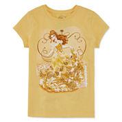 Disney Short-Sleeve Belle Graphic Tee - Girls