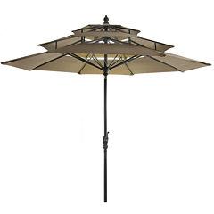 Lucia 9' 3-tier Umbrella