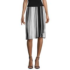 Worthington Pleated Envelope Skirt