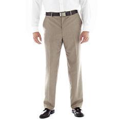 JF J. Ferrar® End on End Flat–Front Suit Pants–Big & Tall