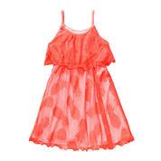 Youngland® Sleeveless Pineapple Crochet Dress - Preschool Girls 4-6x