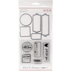 Kaisercraft Label & Die Stamp Kit