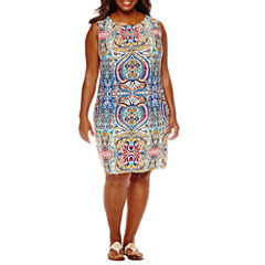 R & K Originals Sleeveless Sundress-Plus