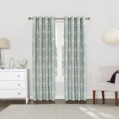 Sun Zero Blackout Grommet-Top Curtain Panel