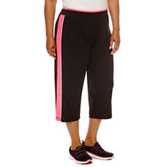 Made For Life Melange Mesh Capris - Plus