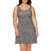 Decree® Skater Dress - Juniors Plus