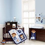 Carter's® Monkey Collection 4-pc. Crib Bedding Set