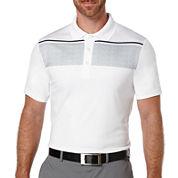 PGA TOUR® Short-Sleeve Chest-Stripe Polo Shirt