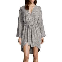Long Sleeve Rayon Robe
