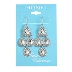 Monet Jewelry The Bridal Collection Chandelier Earrings