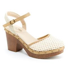 J Sport By Jambu Celine Womens Heeled Sandals