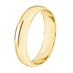 Mens 10K Gold 4mm Ring