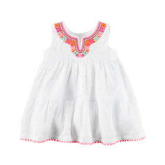 Carter's Sleeveless Babydoll Dress - Baby Girls