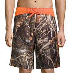Realtree Contrast Yoke E Board Short