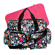 Trend Lab® Floral Deluxe Duffle Diaper Bag