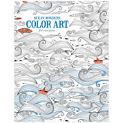 Leisure Arts Ocean Wonders Coloring Book