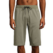 Msx By Michael Strahan Ultra Fleece Woven Short