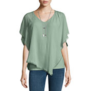 Alyx Assymetrical Popover Top