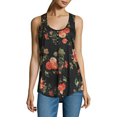 i jeans by Buffalo Button Front Tank Top