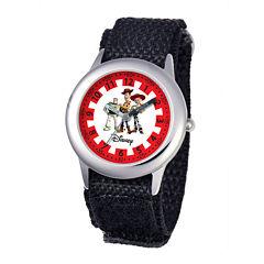 Disney Kids Toy Story Black Fast Strap Watch