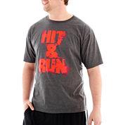 adidas® Hit-and-Run Tee-Big & Tall