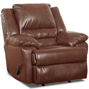 Big & Tall Marcus Faux-Leather Recliner