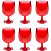 Zak Designs® Stacky Set of 6 Stemmed Goblets