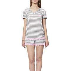 Shorts Pajama Set-Juniors