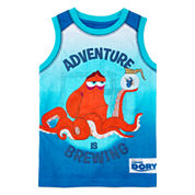 Disney Apparel by Okie Dokie® Dory Tank Top - Preschool Boys 4-7