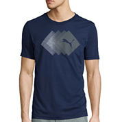 Puma® Gradient Fade Short-Sleeve Graphic Tee