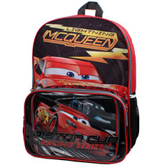 Cars Backpack and Lunch Box