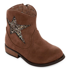 Okie Dokie Moselle Girls Cowboy Boots