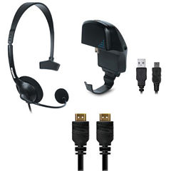 DreamGear DGPS3-3827 PlayStation3 3-In-1 Gamer's Pack