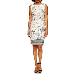 Be By CHETTA B Sleeveless Sheath Dress