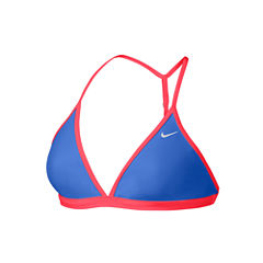 Nike Performance Solid Bra Swimsuit Top