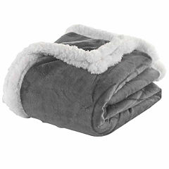 DUCK RIVER 50X60 Kensie Sherpa Throw